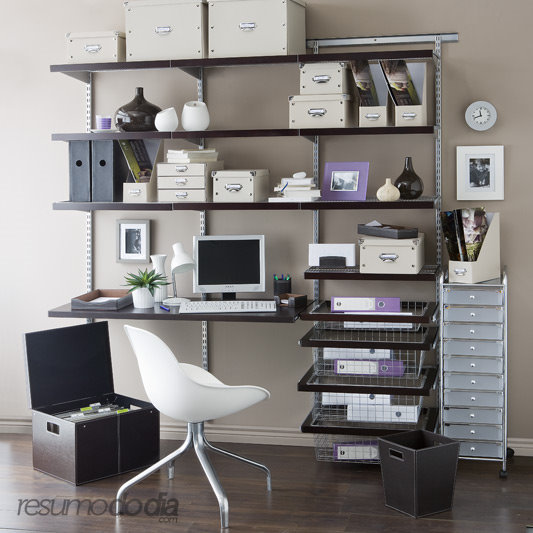 20 Inspiring Home Office Design Ideas For Small Spaces: Como Decorar Escritório De Trabalho