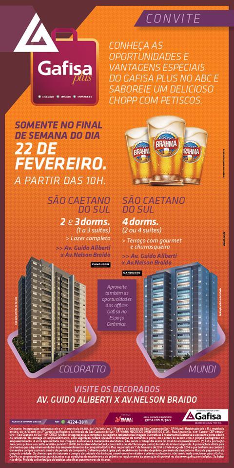 Boteco Gafisa - Mundi - Coloratto - Viana Negócios Imobiliários - Apartamentos, Casas, Lançamentos em São Caetano do Sul, ABC e São Paulo