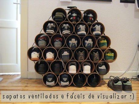 Sapateira de canos de PVC - Viana Negócios Imobiliários - Apartamentos, Casas, Lançamentos em São Caetano do Sul, ABC e São Paulo