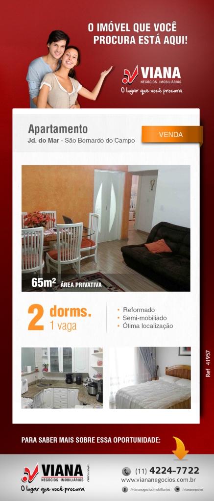 Apartamento em São Bernardo - Viana Negócios Imobiliários - Apartamentos, Casas, Imóveis, Lançamentos em São Caetano do Sul, São Bernardo, Santo André, ABC e São Paulo
