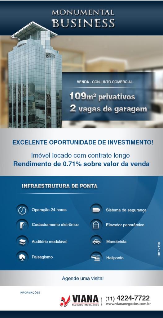 Monumental Business - Conjunto Comercial em São Caetano do Sul - Viana Negócios Imobiliários - Apartamentos, Casas, Imóveis, Lançamentos em São Caetano do Sul, São Bernardo, Santo André, ABC e SP