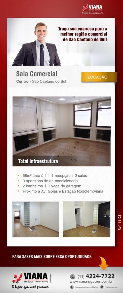 Sala comercial em São Caetano do Sul - Viana Negócios Imobiliários - Apartamentos, Casas, Imóveis, Lançamentos em São Caetano do Sul, São Bernardo, Santo André, ABC e São Paulo