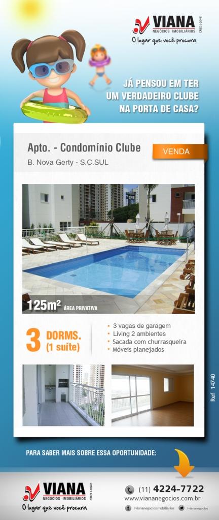Apartamento em São Caetano - Viana Negócios Imobiliários - Apartamentos, Casas, Imóveis, Lançamentos em São Caetano do Sul, São Bernardo, Santo André, ABC e São Paulo