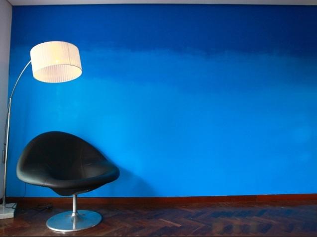 Pintura degrade parede - Viana Negócios Imobiliários - Apartamentos, Casas, Imóveis, Lançamentos em São Caetano do Sul, São Bernardo, Santo André, ABC e São Paulo