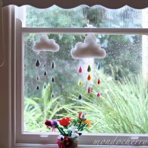 Arte na janela- delicadeza em feltro