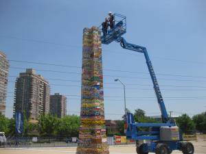 Foto 06 - Maior torre e Lego do mundo