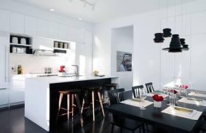 Foto 14 - Cozinha no branco e preto